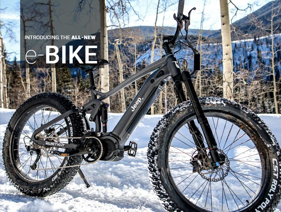 Jeep VTT électrique e-Bike
