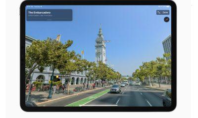 La nouvelle version d'Apple Maps ou Apple Plans