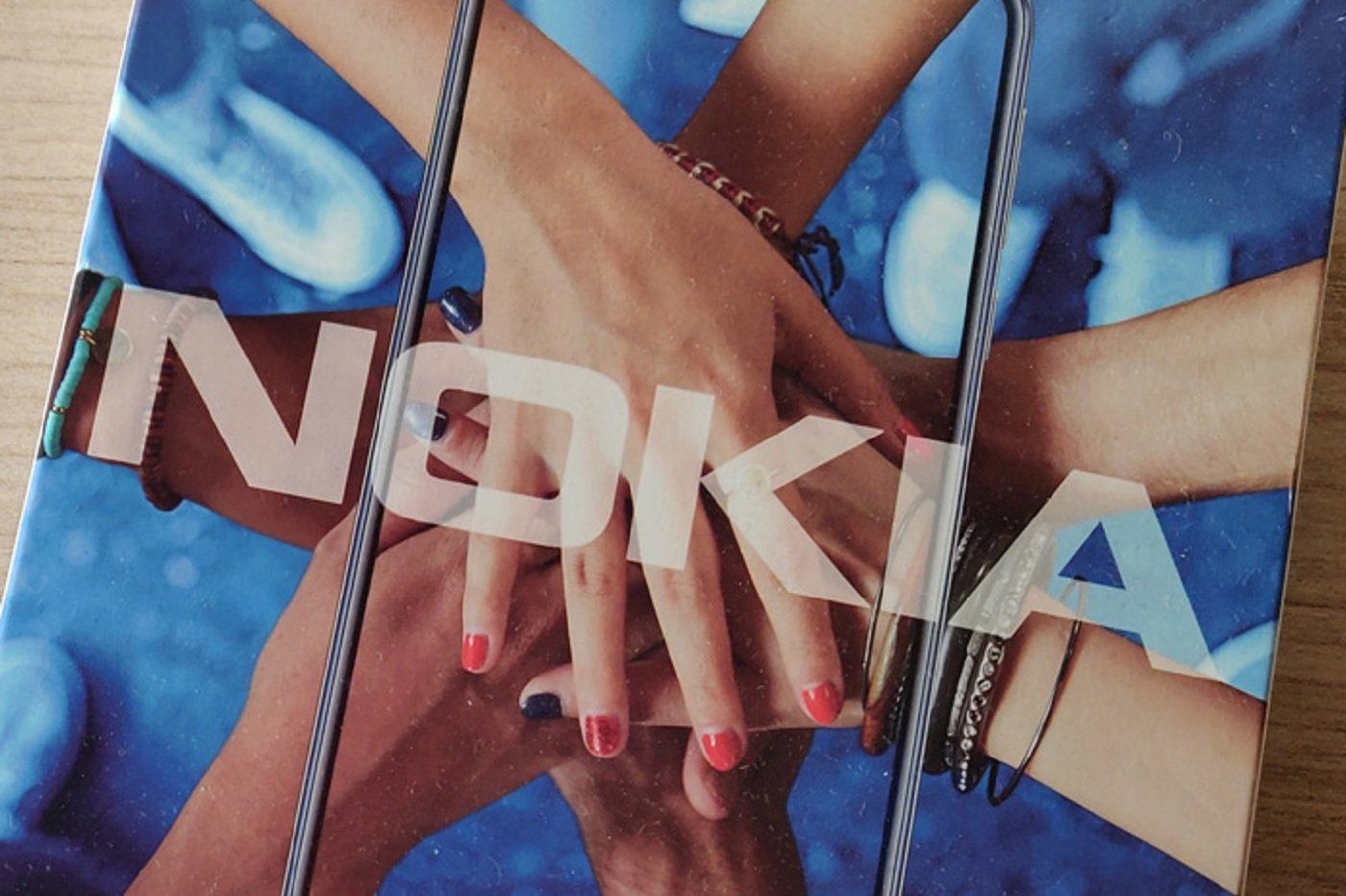 Le logo de Nokia sur un emballage