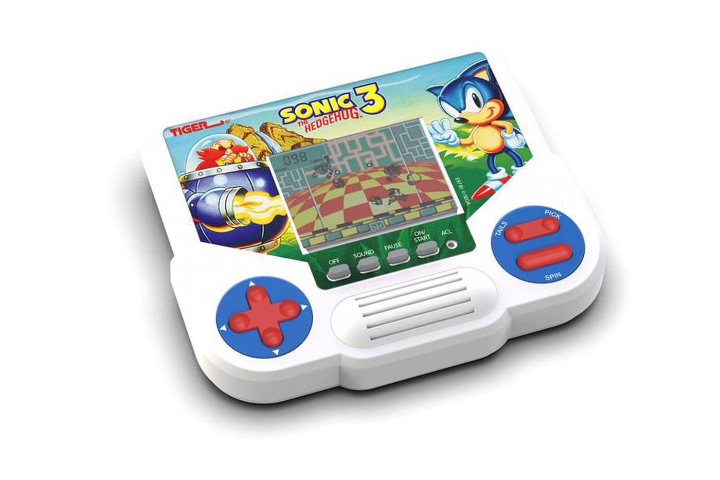 Tiger va (re)lancer ses mini-consoles LCD des années 90… avec notamment Sonic 3!