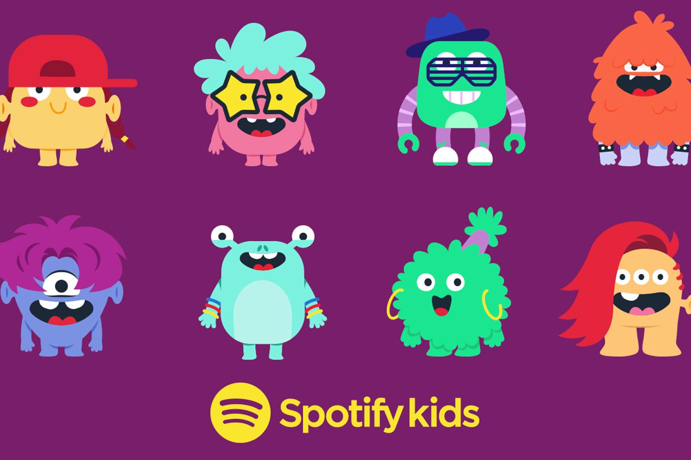 La nouvelle application Spotify Kids