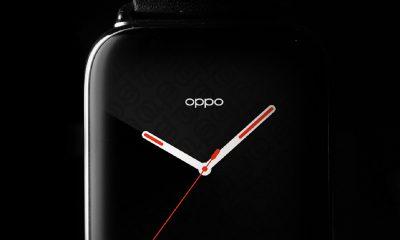 Teaser de l'Oppo Watch sur Twitter