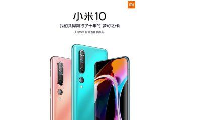 Teasing du Xiaomi Mi 10 sur le réseau social Weibo