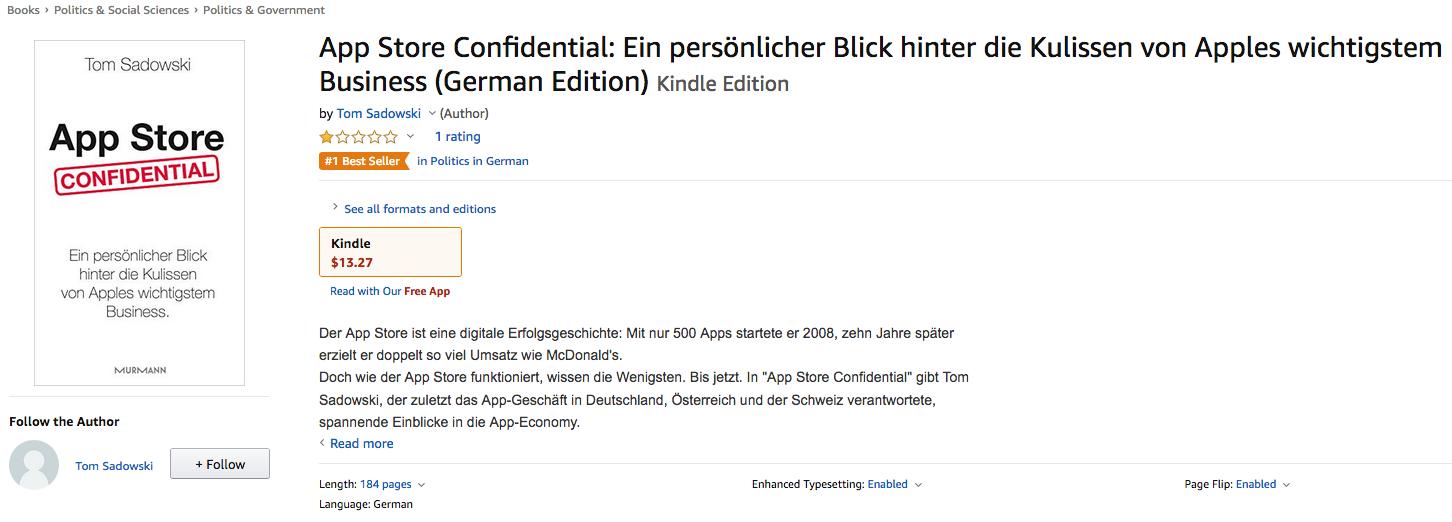 Apple livre Amazon best-seller