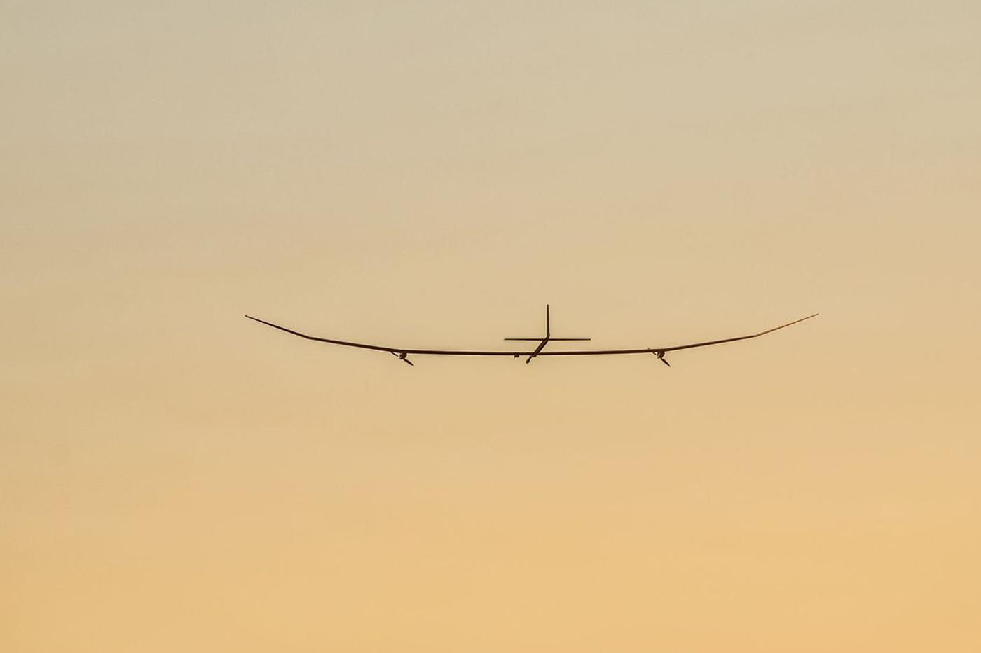 Cet avion électrique peut voler une année sans pause