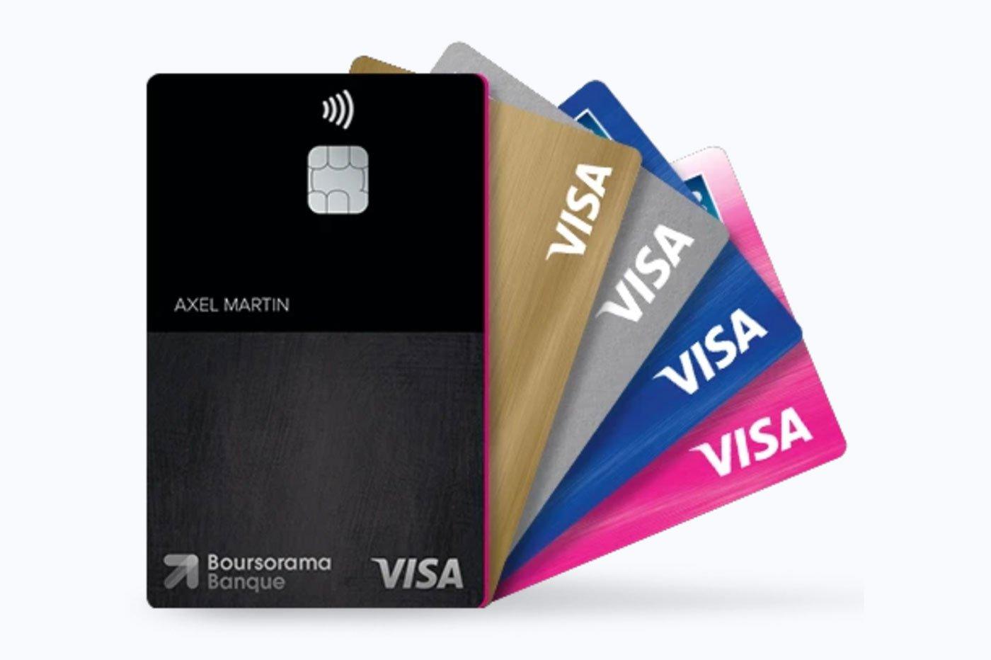 Carte bancaire Boursorama