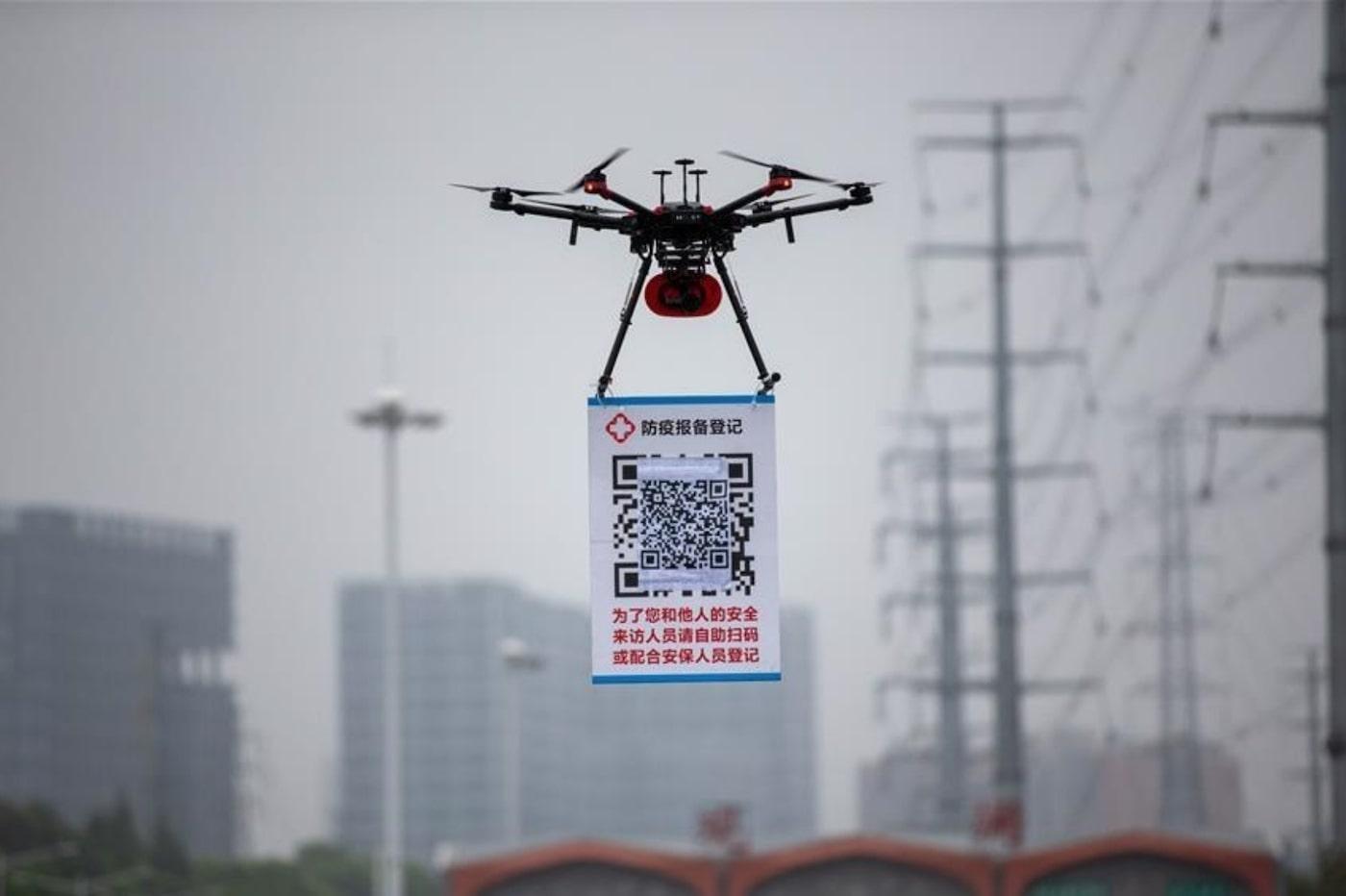 """Résultat de recherche d'images pour """"drone coronavirus"""""""