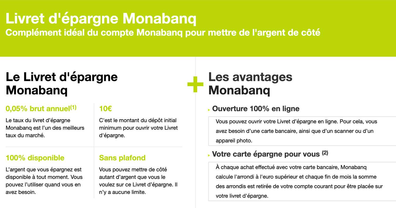 Économies Monabanq