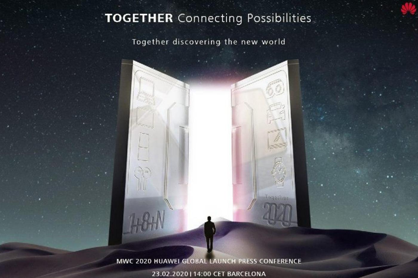 Huawei Mate Xs MWC