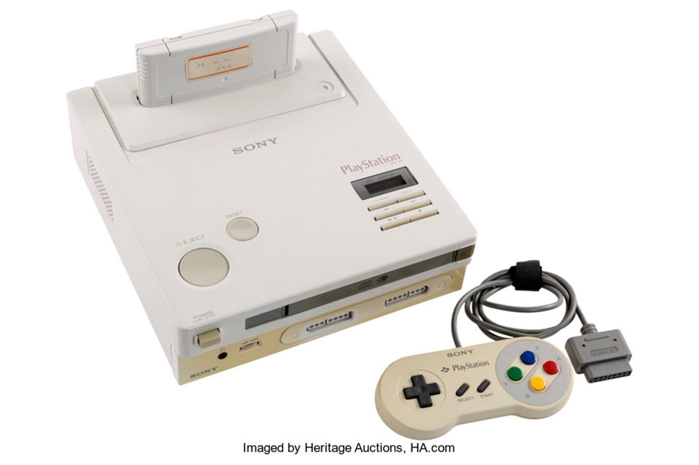 La vente aux enchères de la console a commencé — Nintendo PlayStation