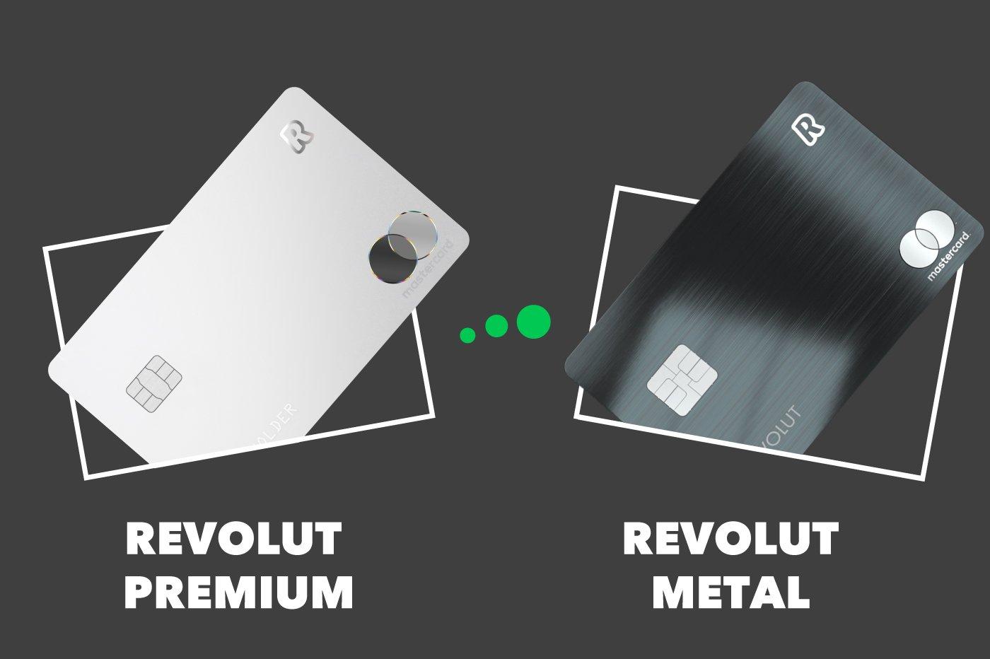Revolut Premium vs Revolut Metal