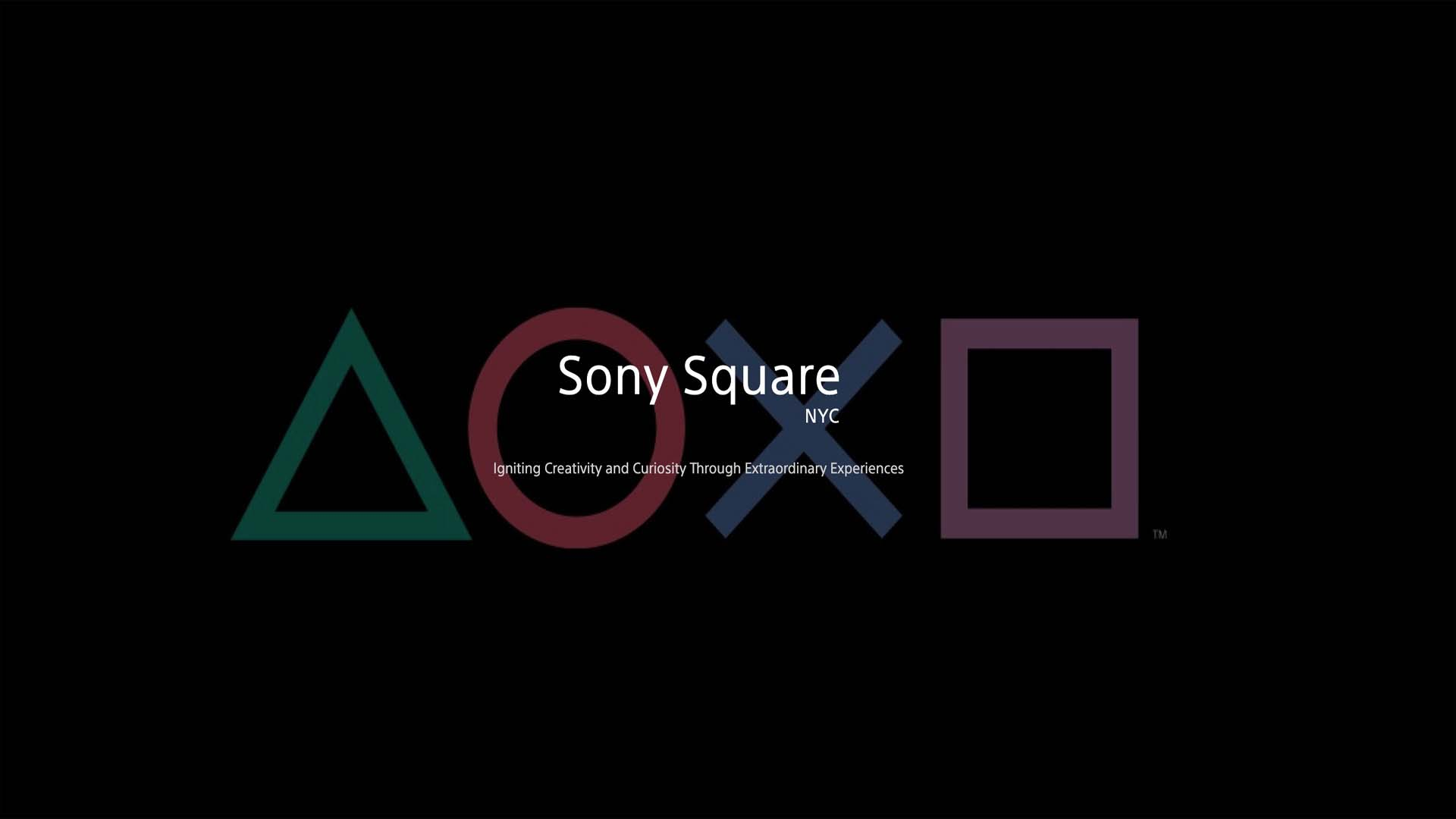 Sony Square Experience PlayStation
