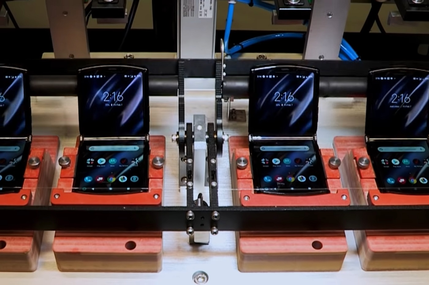 test du Motorola Razr