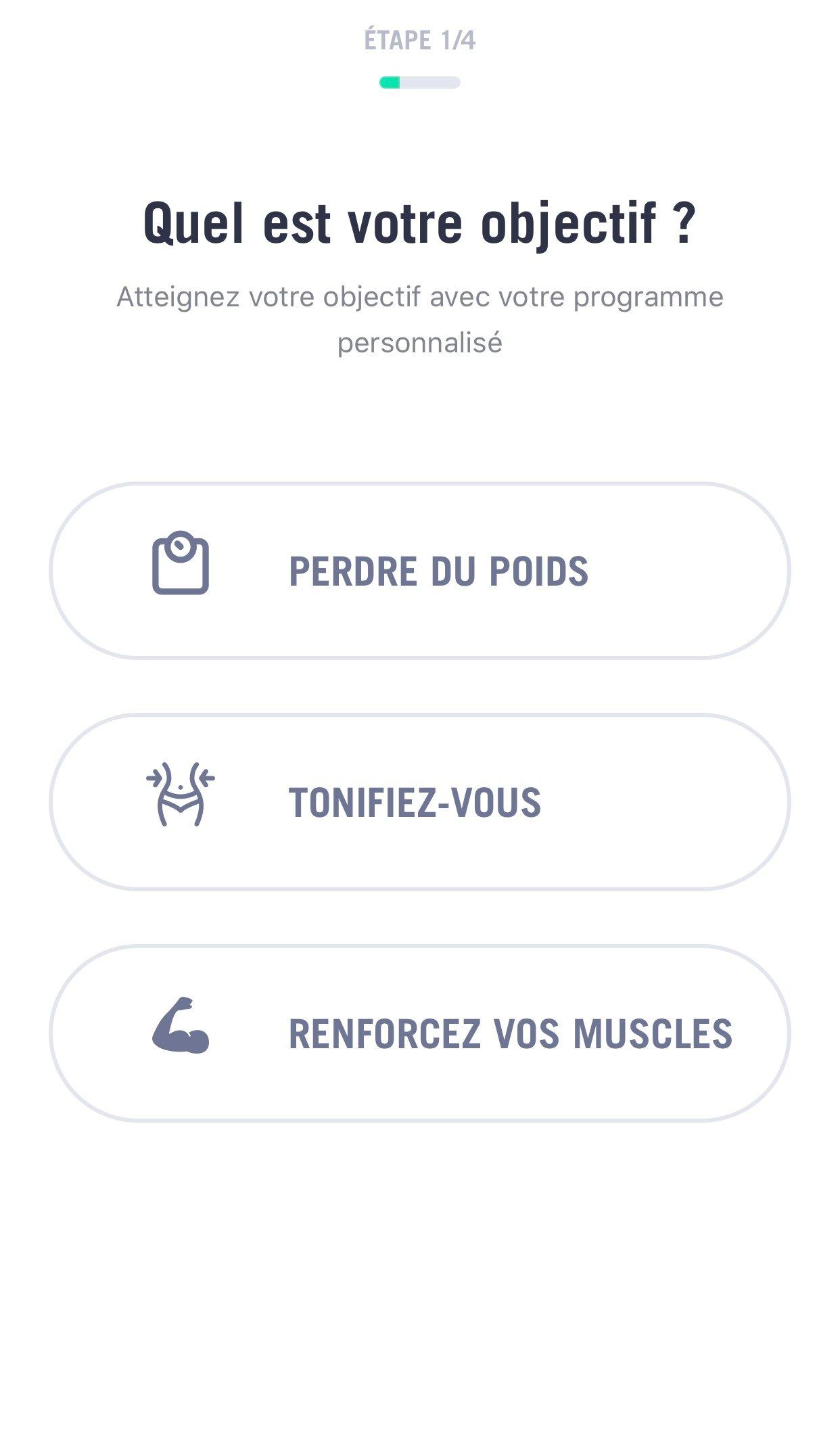 30 jours fitness challenge objectif