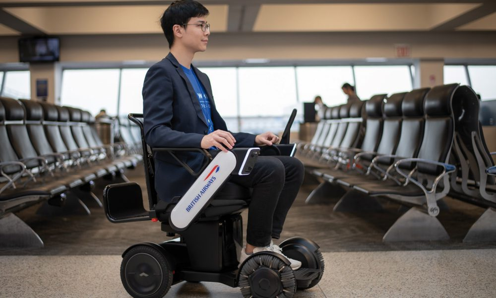 British Airways fauteuil roulant