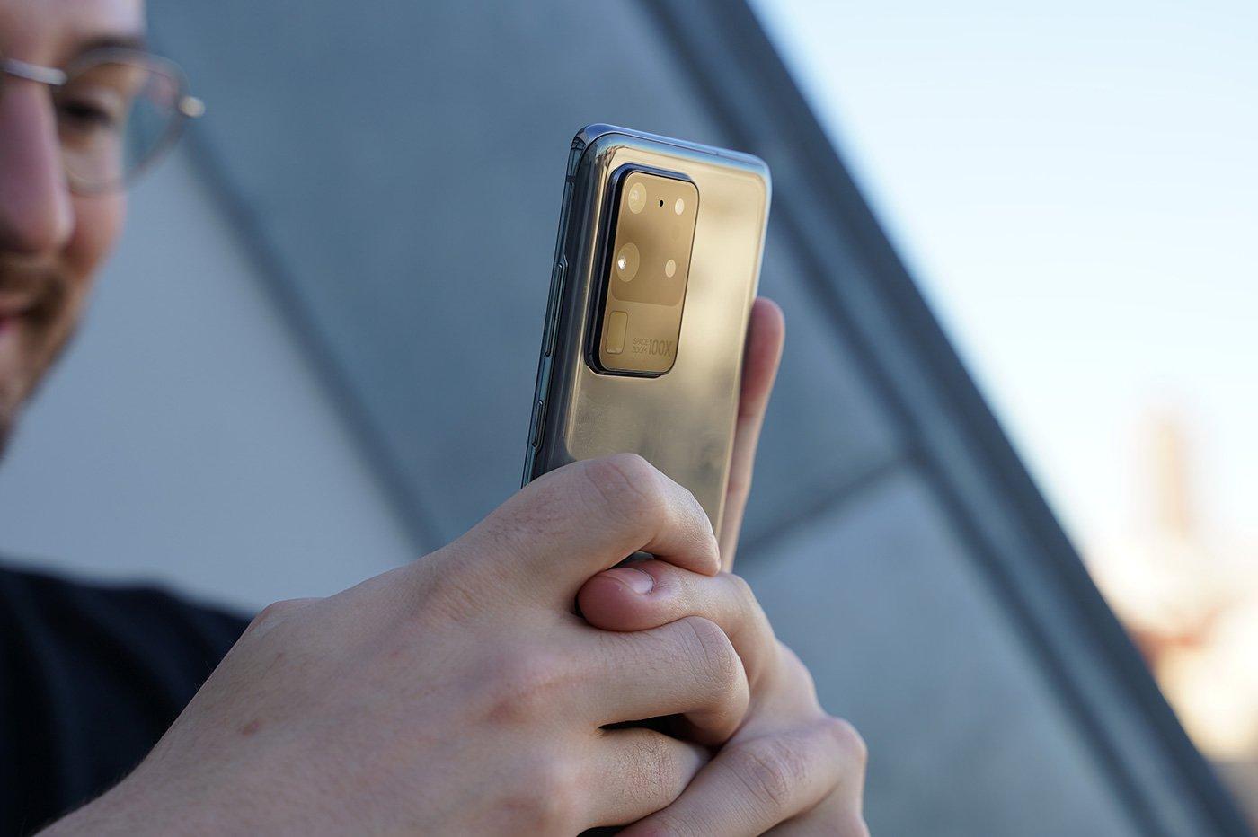 Capteurs Photos Samsung S20 Ultra