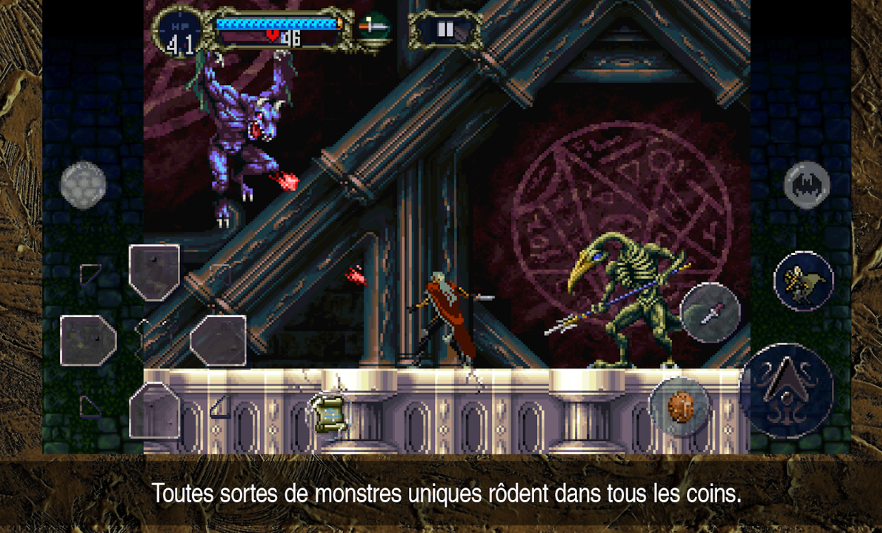Castlevania sur Android
