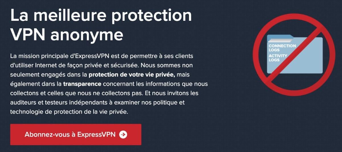 Confidentialité ExpressVPN