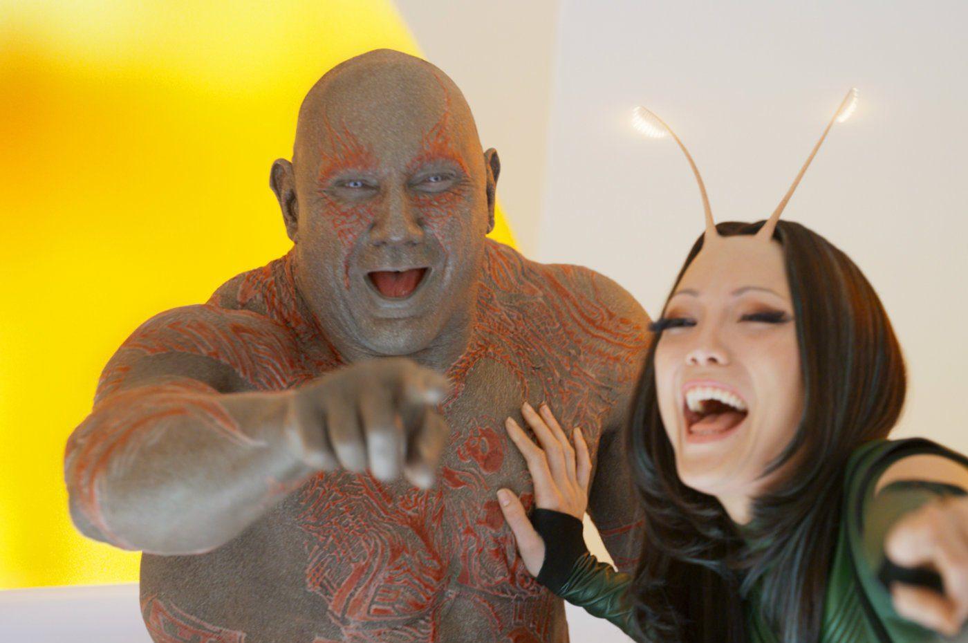 Marvel : un film sur Drax et Mantis est encore au programme