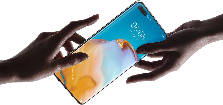 L'écran du Huawei P40 Pro