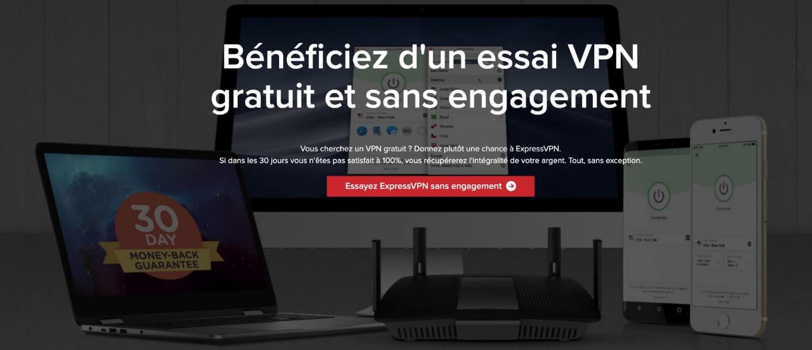 ExpressVPN VPN gratuit