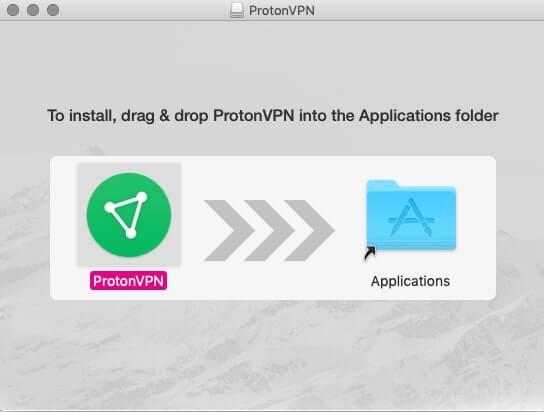 Installation ProtonVPN