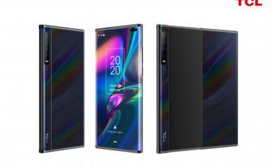 Le smartphone à écran enroulable de TCL