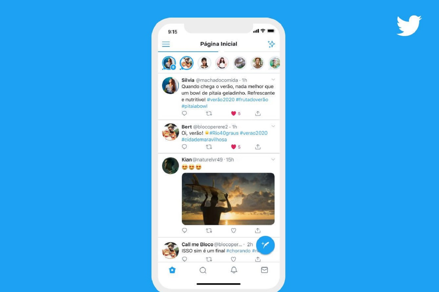 Déjà un (gros) bug concernant les nouveaux Fleets — Twitter