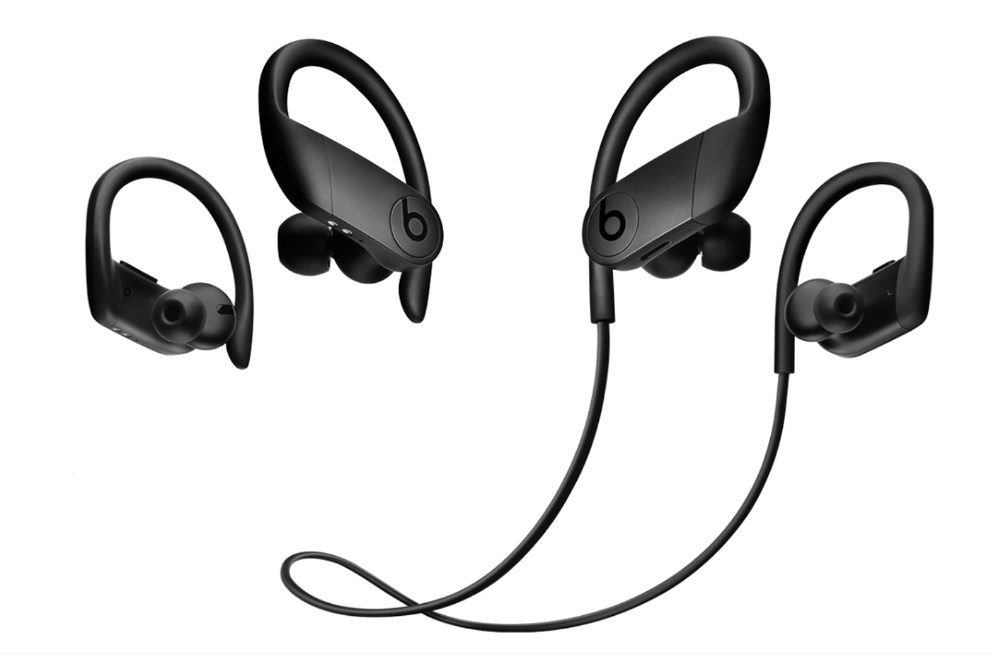 Apple Powerbeats Pro et Powerbeats 4