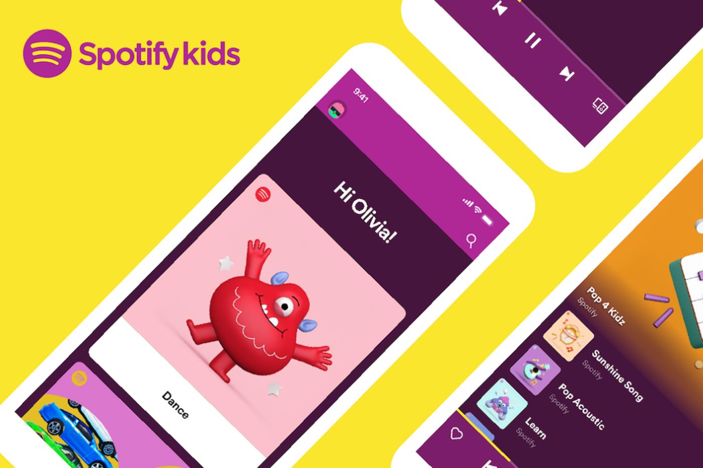 Spotify Kids, l'app musicale pour les enfants, débarque en France