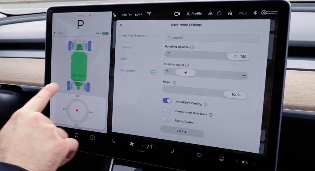 Tesla Track Mode V2