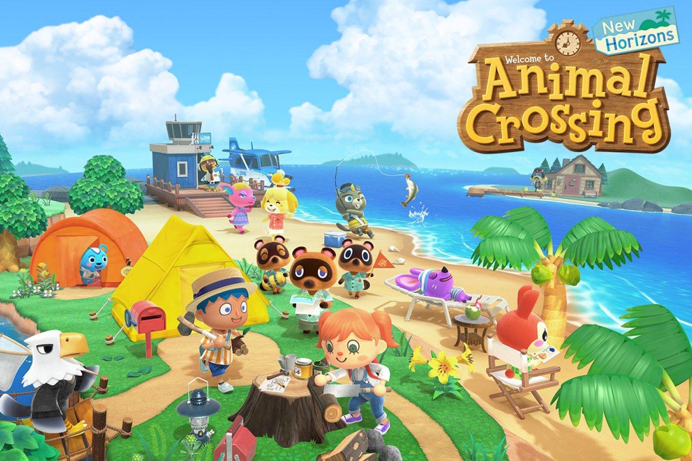Test Animal Crossing Nintendo Switch
