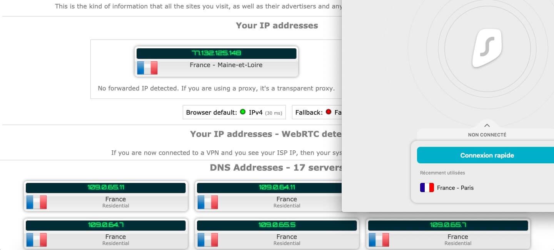 adresse IP Surfshark