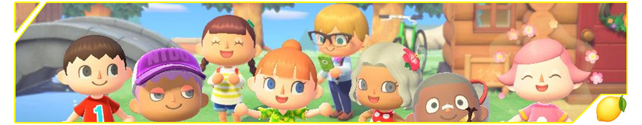 Ban Presse-citron Animal Crossing New Horizons