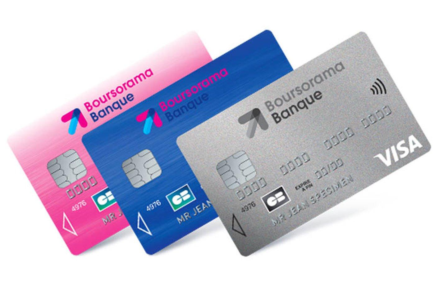 Carte Visa Classic Boursorama