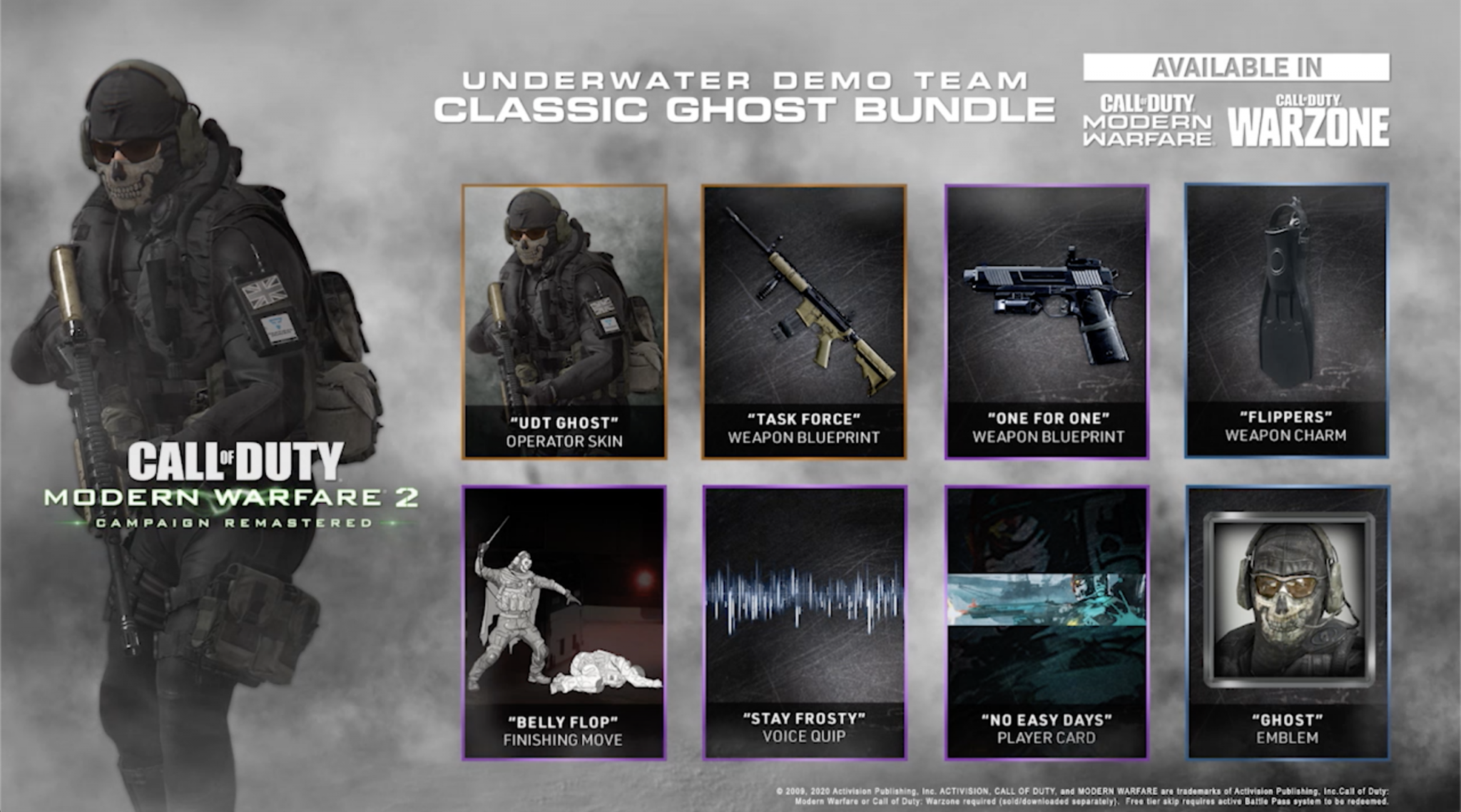 Call of Duty Modern Warfare Pack Ghost