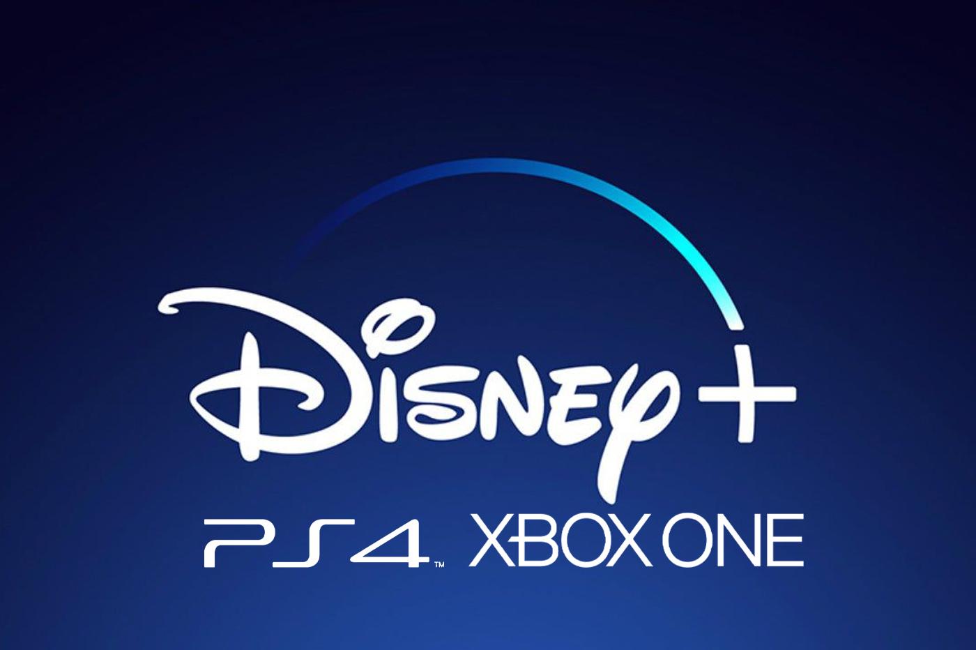 Disney+ PS4 et Xbox One