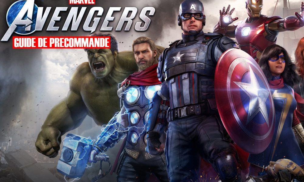 Guide Précommande Marvel's Avengers