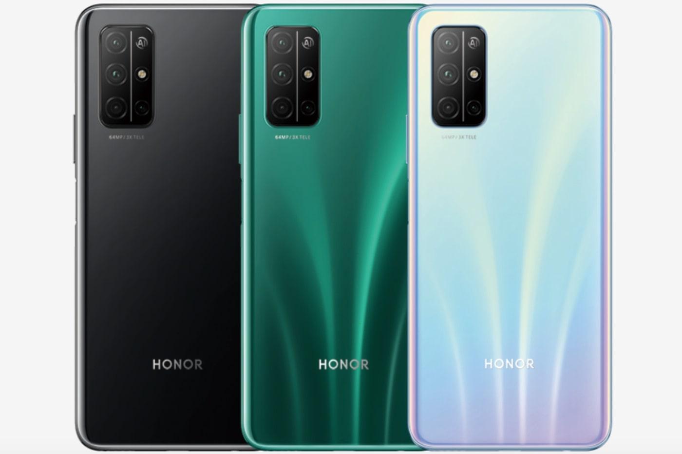 Смартфоны Honor 30S