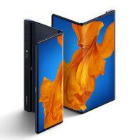 Huawei Mate Xs plié et déplié