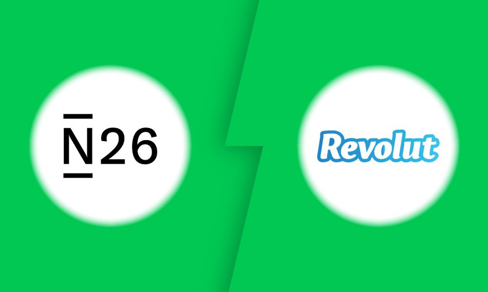 Comparatif N26 vs Revolut