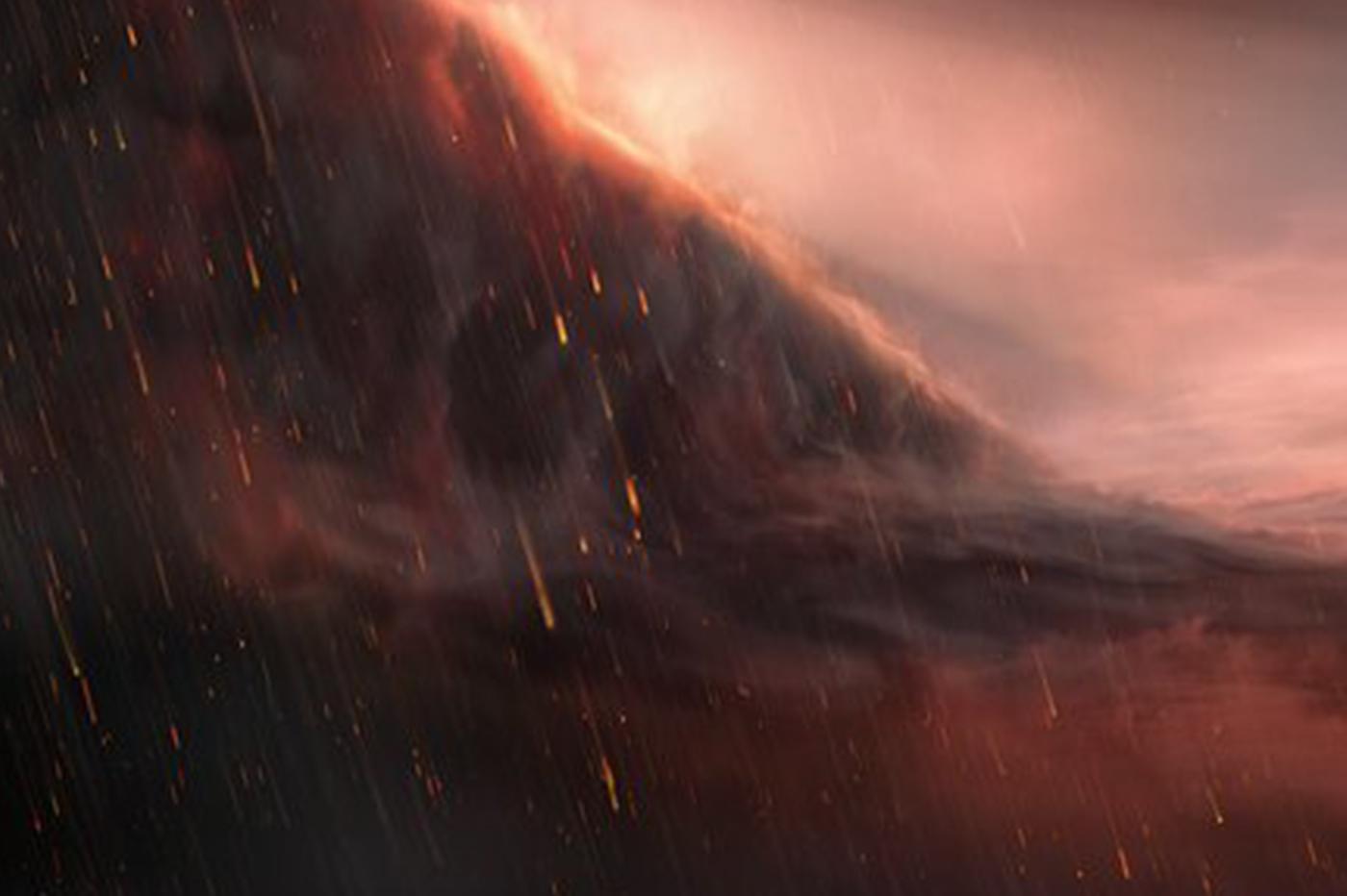 Le VLT détecte une exoplanète sur laquelle il pleut du fer