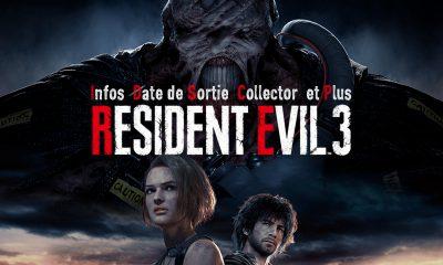 Resident Evil 3 Infos, date de sortie, collector et plus