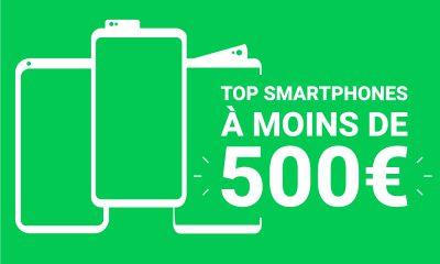 Meilleurs smartphone moins de 500€
