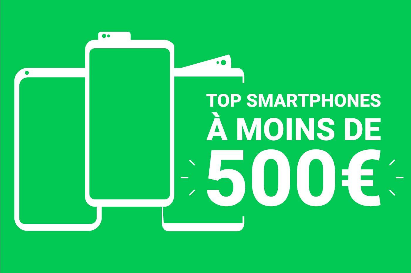 Quel est le meilleur smartphone à moins de 500 euros en 2020?