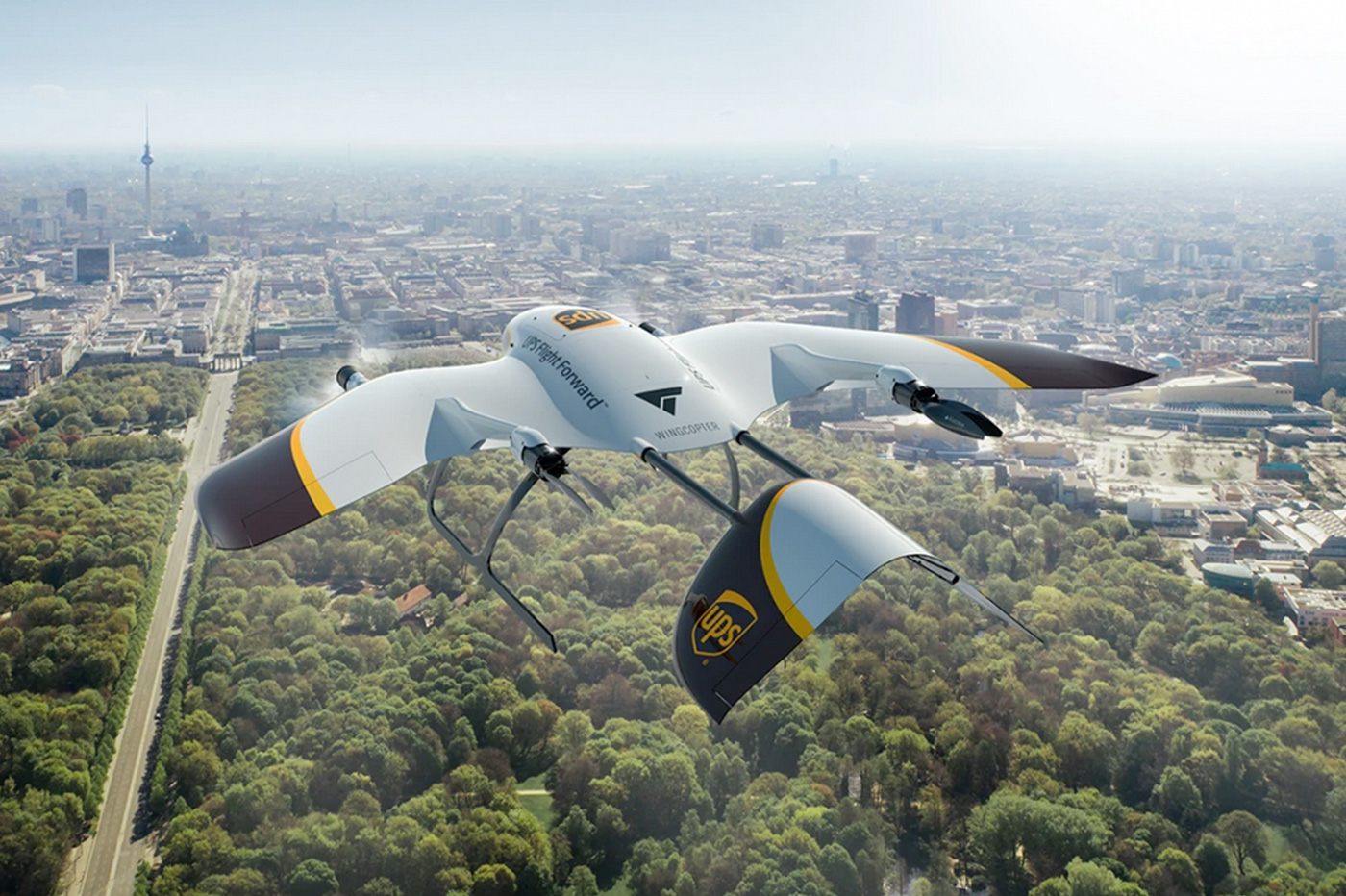 UPS Wingcopter