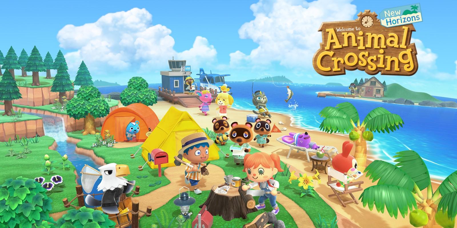 Wallpaper Animal Crossing New Horizons