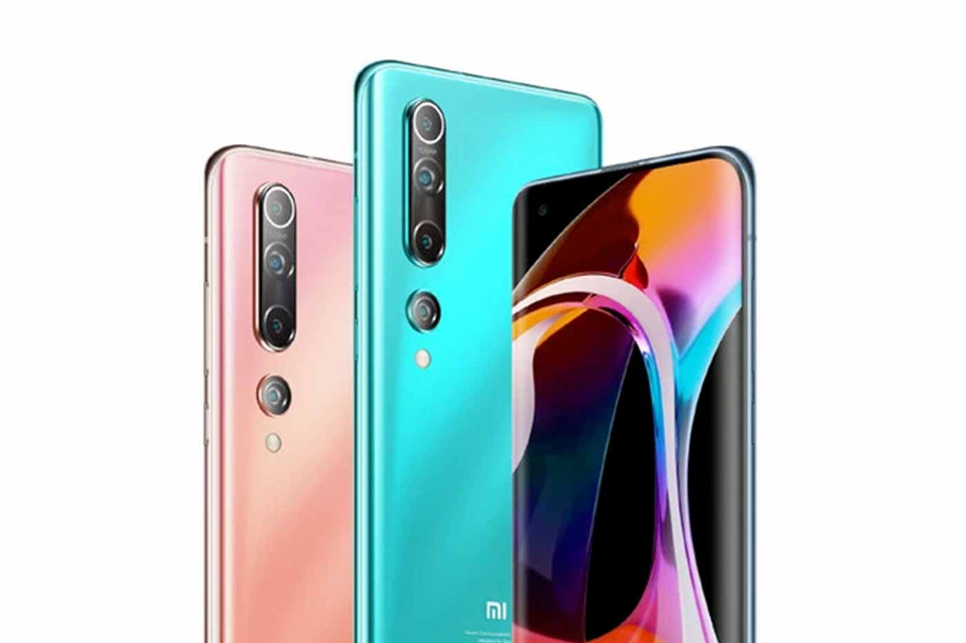 Xiaomi Mi 10 couleurs