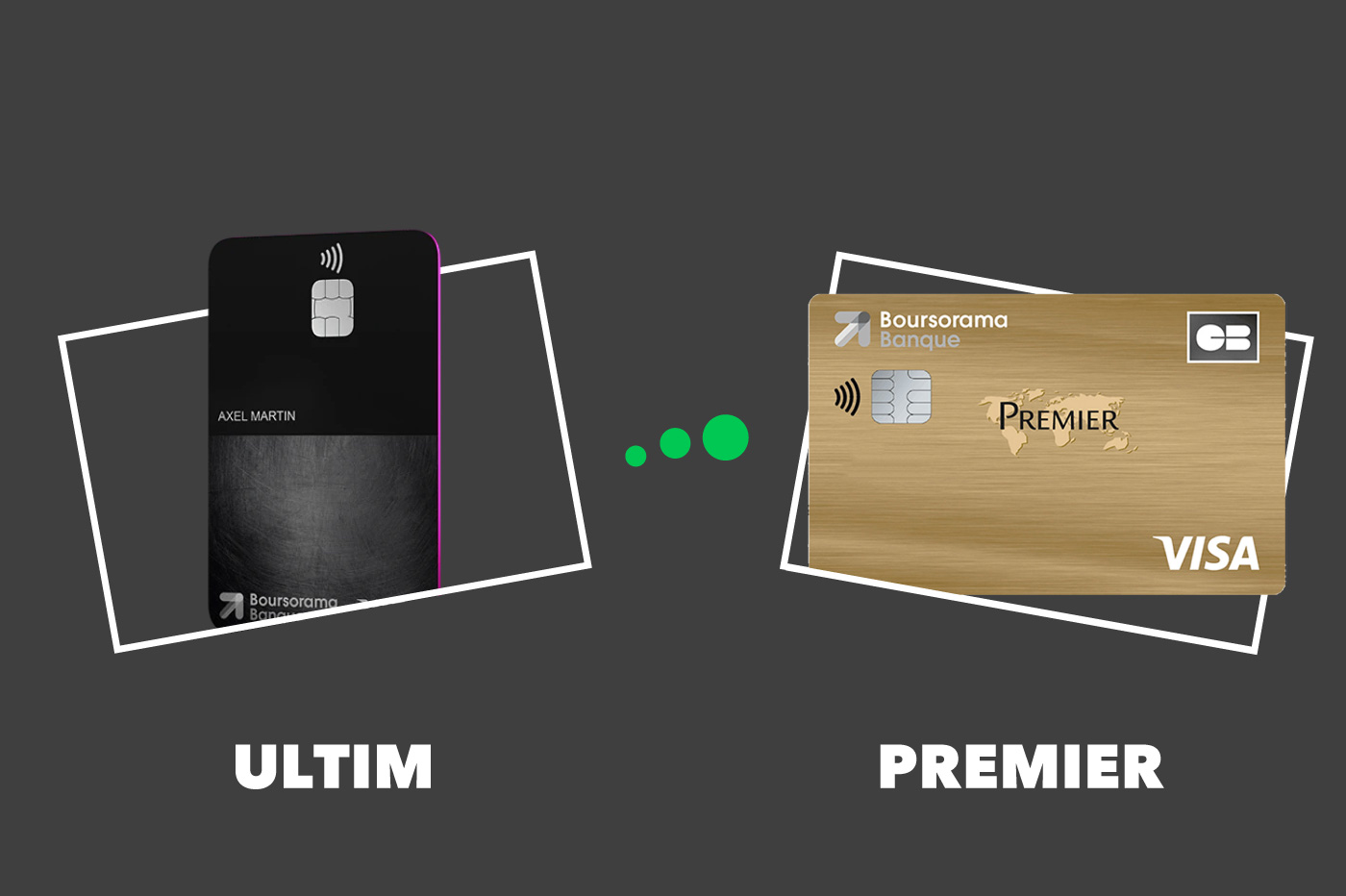 Carte Visa Ultim Vs Premier Comparatif Des Offres Boursorama