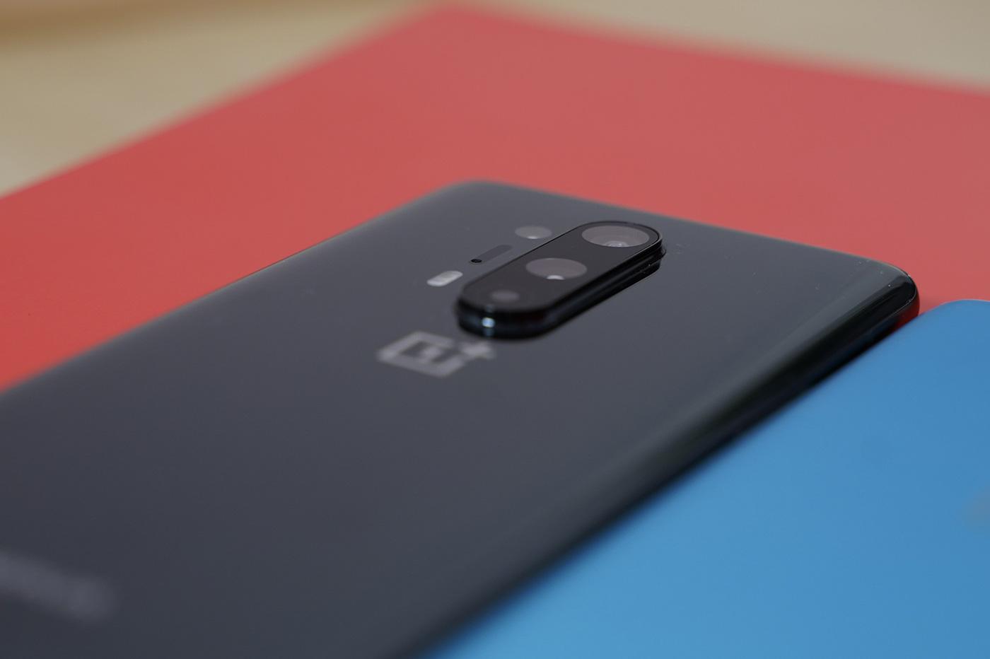 Le bloc photo du OnePlus 8 Pro
